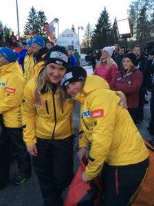 Lisa und Steffi WM 2016