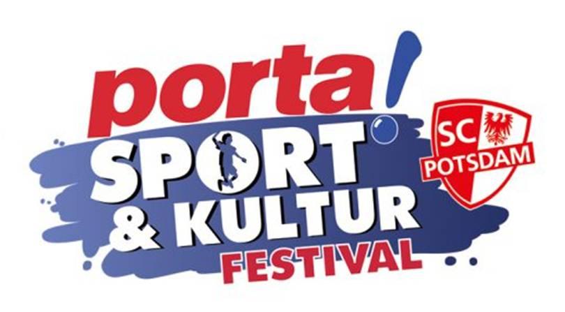 Floorball bei der Sportshow des Porta Sport- und Kulturfestivals