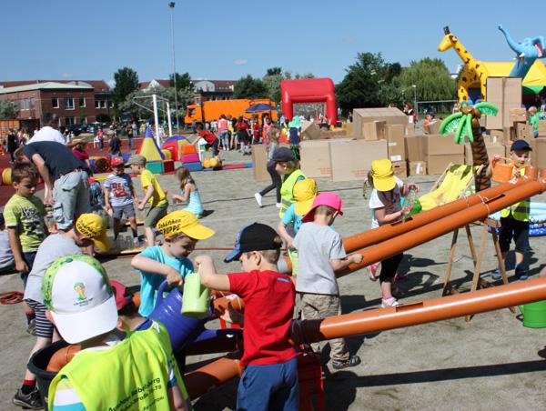 Kindertagsfest des SC Potsdam