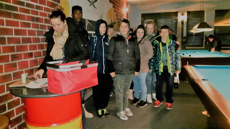 Bowling im Bowlingcenter Babelsberg mit dem OFF LINE