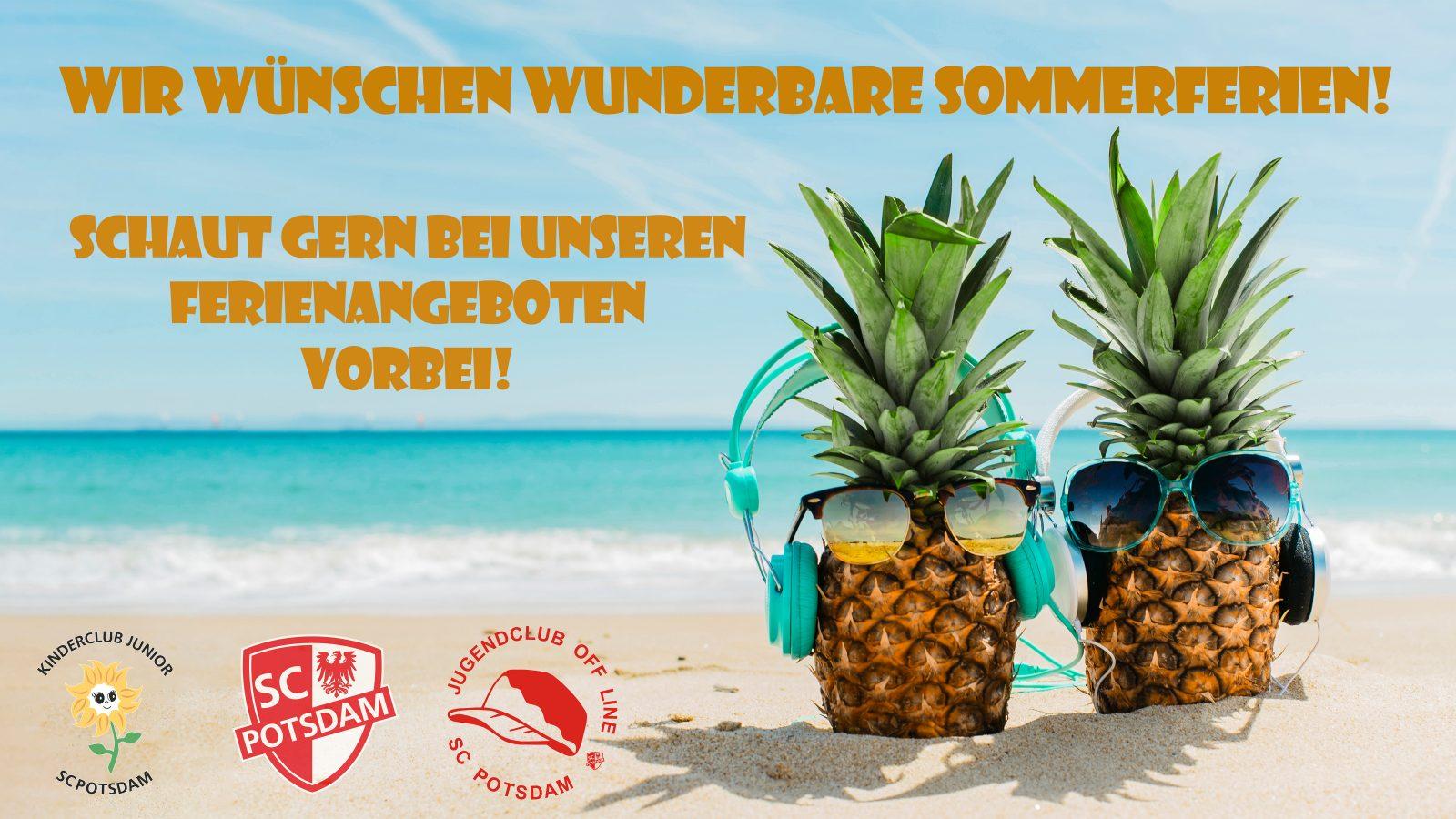 Unsere Sommerferien-Angebote!
