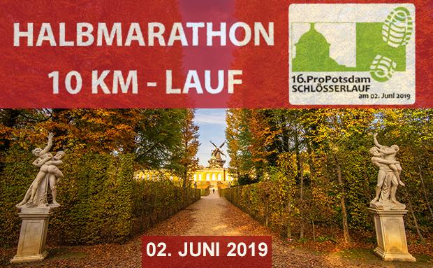Lauffreunde aufgepasst: 16. Pro Potsdam Schlösserlauf am 02.Juni