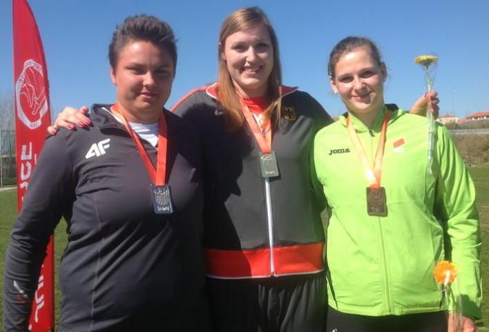 Kristin Pudenz siegt bei Winterwurf-Europacup