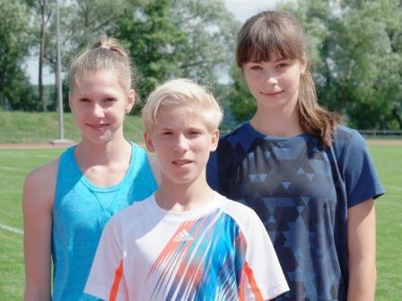 Erste Teilnahme bei Deutsche Meisterschaften im Blockmehrkampf