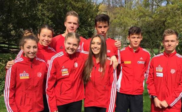 Fünf Deutsche Meistertitel für SCP-Leichtathleten