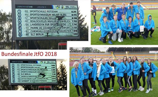 Eliteschule des Sports gewinnt Bundesfinale JtfO