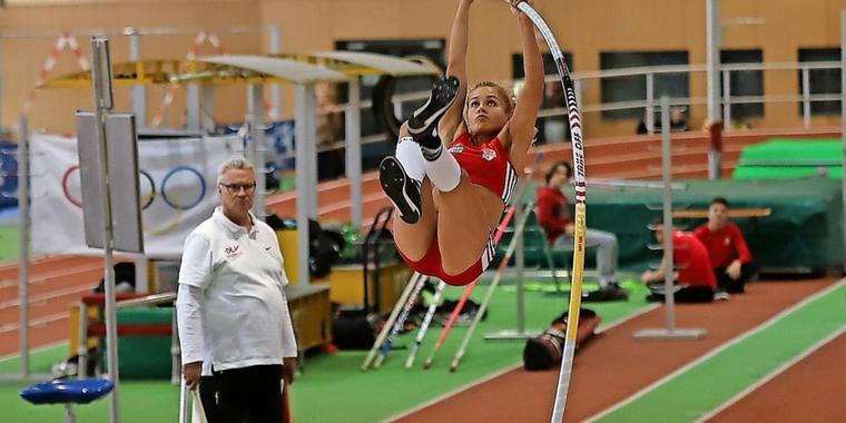 Potsdamer Stabies bei den Deutschen Hallenmeisterschaften