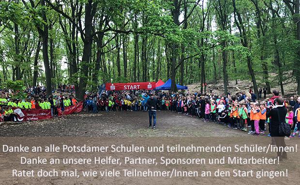 Stadt-Crosslauf des SC Potsdam mit Potsdamer Schulen: Ein voller Erfolg!