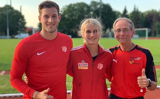 Weit, weiter, SC Potsdam – Diskus & Speer