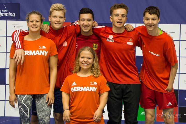 Erfolgreicher Auftritt unseres Paralympischen Schwimmteams