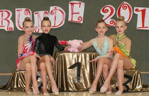 Erfolgreicher Tag für Potsdamer Gymnastinnen
