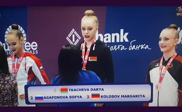Margarita Kolosov gewinnt internationales Bronze in Sofia