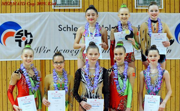 Silbermedaille beim Intern. Mermaid-Cup Kiel