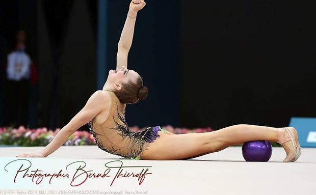 Margarita Kolosov in den TOP 15 der Juniorinnen Weltcup-Serie