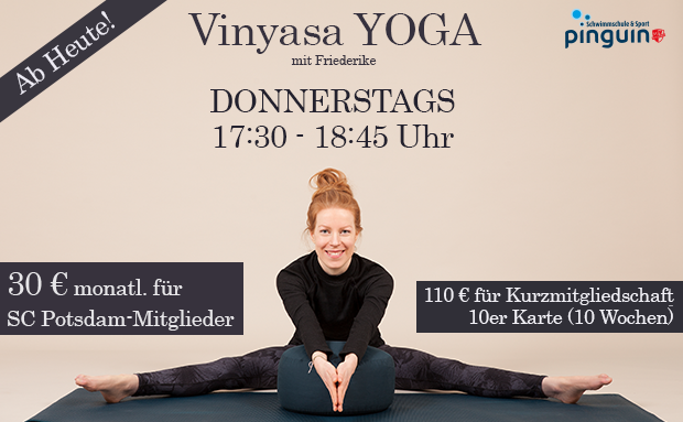 Ab heute! Neues Yoga-Angebot in Potsdam-Nord