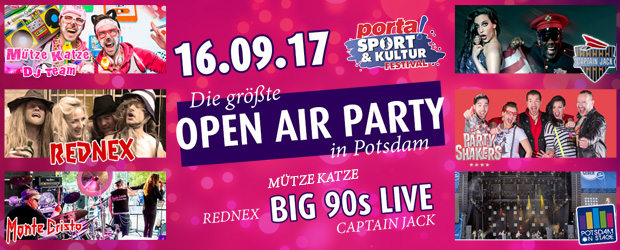 porta Sport & Kultur Festival – Potsdam Open Air