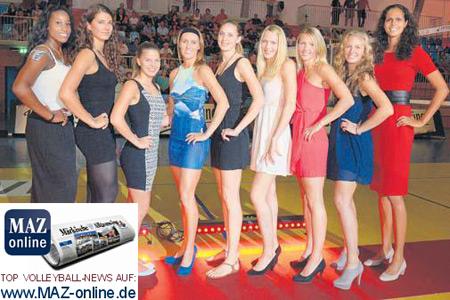 Auftakt mit Schick und Pep – Volleyball-Bundesligist präsentiert das Team