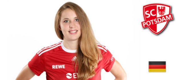Mittelblockerin Lisa Gründing bleibt dem SC Potsdam treu