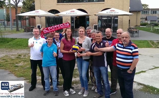Fan-Talk beim SC Potsdam