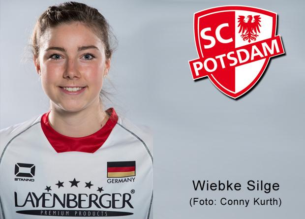 Nationalspielerin Wiebke Silge spielt für Potsdam