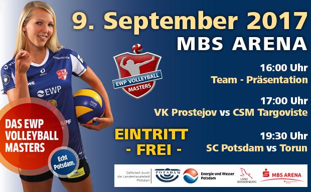 EWP Volleyball Masters – Freier Eintritt –