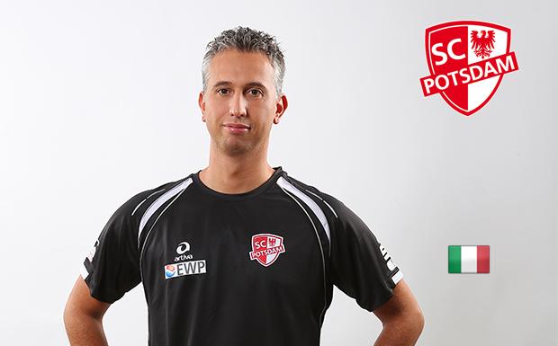 Volleyballtrainer Davide Carli ist Vater geworden