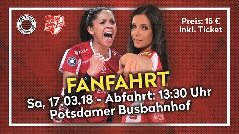 Fanfahrt zum Play-Off-Spiel in Dresden