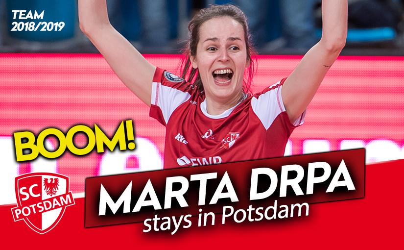 Punktegarant Marta Drpa bleibt in Potsdam