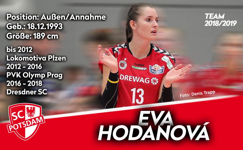 Eva Hodanová kommt aus Dresden zum SC Potsdam