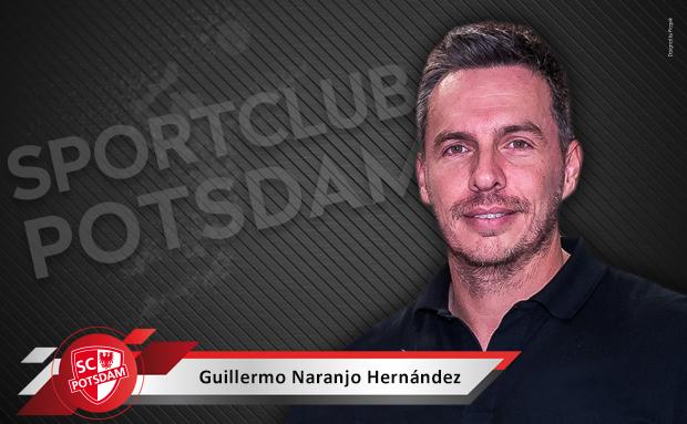 Guillermo Naranjo Hernández übernimmt Training beim SC Potsdam