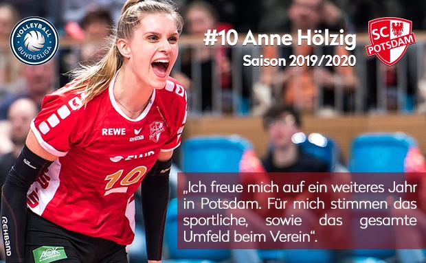 SC Potsdam verlängert Vertrag mit Anne Hölzig