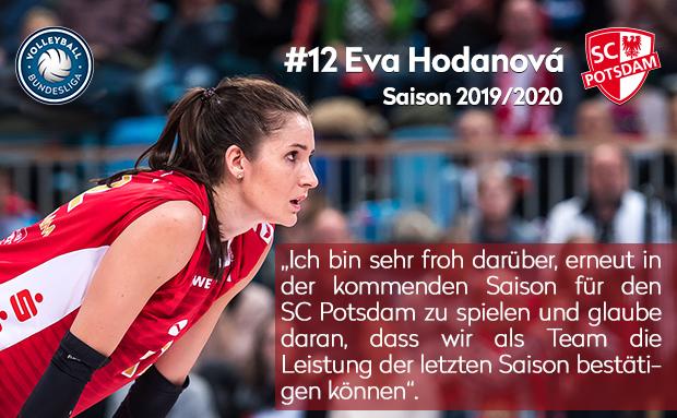 Vertragsverlängerung mit Eva Hodanová