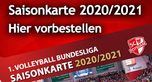 Saisonkarten 2020/2021