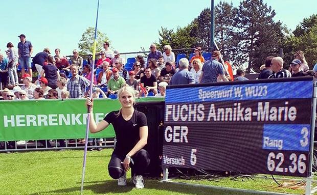Annika-Marie Fuchs eine Klasse für sich