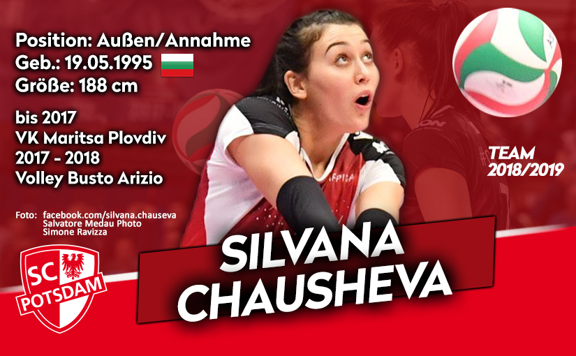 Silvana Chausheva komplettiert Angriff beim SC Potsdam