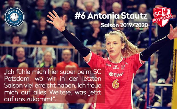Vertragsverlängerung mit Antonia Stautz