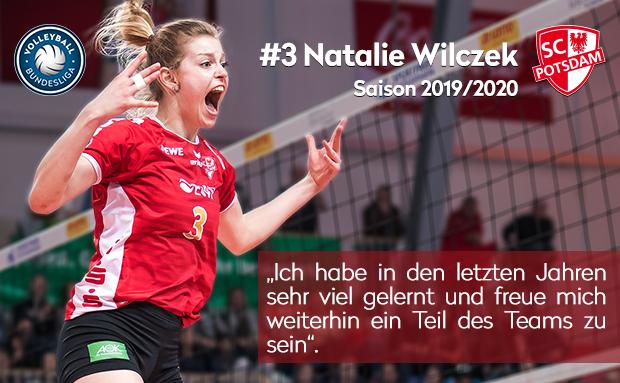 Vertragsverlängerung mit Natalie Wilczek