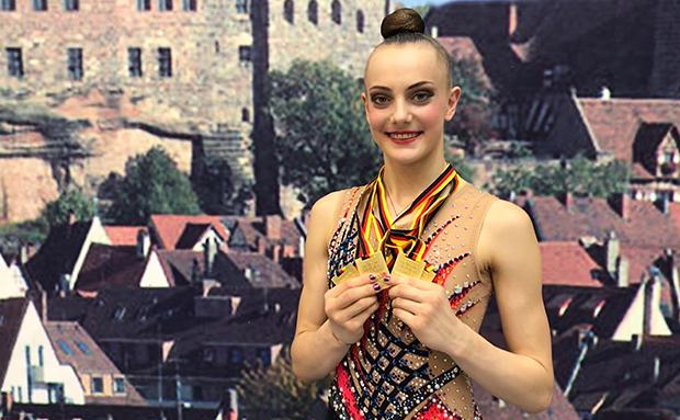 Margarita Kolosov holt alle DM-Titel und ist JWM-Kader!