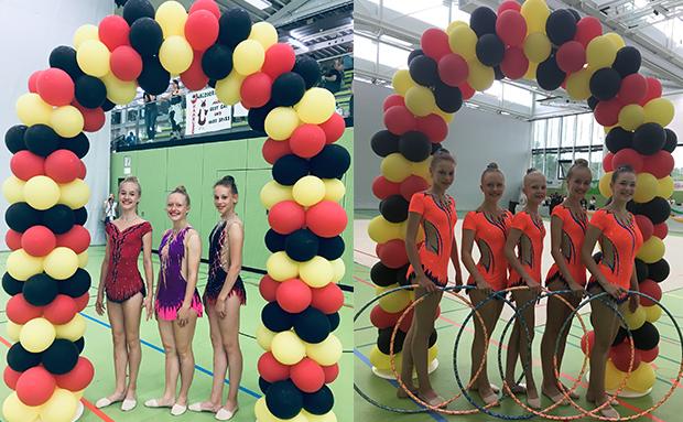 Vordere Platzierungen beim Deutschland Cup der Gymnastik