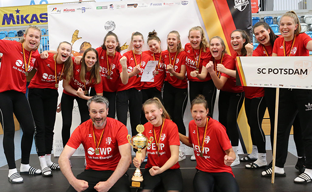 DM-Bronze für SC Potsdam! Deutscher Meister ist der Dresdner SC!
