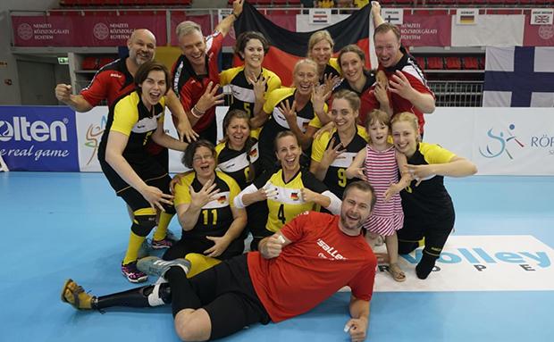 Platz 4 bei Sitzvolleyball-EM für das deutsche Damenteam